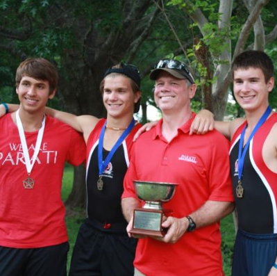 Parati, the premier Woodlands rowing club, takes State Championship