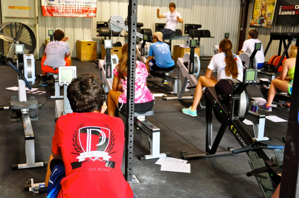 The Parati Fitness Revolution- Woodlands rowing goes indoors