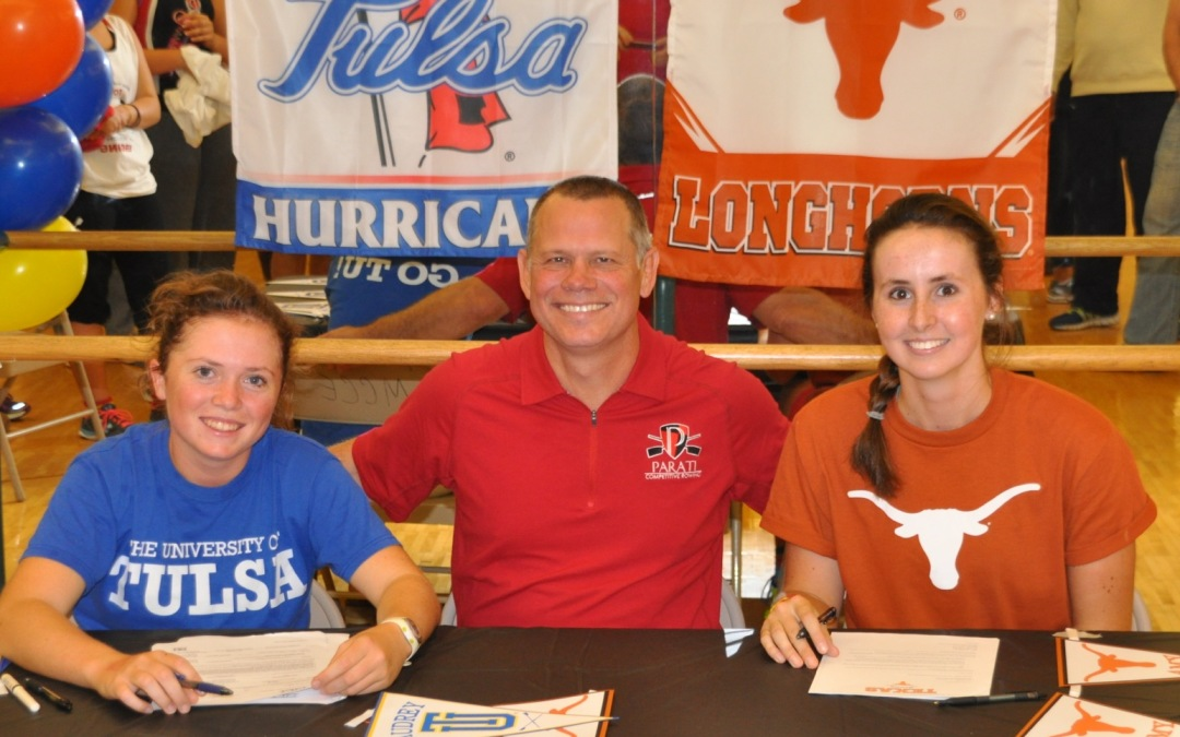 Parati Athletes Sign Letter of Intent